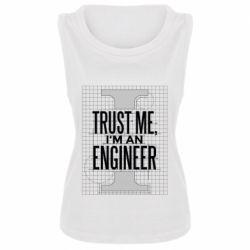 Майка жіноча Довірся мені я інженер