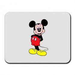 Коврик для мыши Довольный Микки Маус