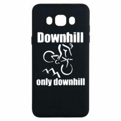 Чохол для Samsung J7 2016 Downhill,only downhill