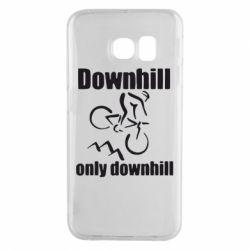 Чохол для Samsung S6 EDGE Downhill,only downhill