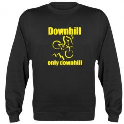 Реглан (свитшот) Downhill,only downhill - FatLine