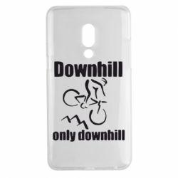 Чехол для Meizu 15 Plus Downhill,only downhill - FatLine
