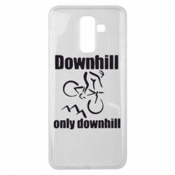 Чохол для Samsung J8 2018 Downhill,only downhill