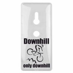 Чехол для Sony Xperia XZ3 Downhill,only downhill - FatLine
