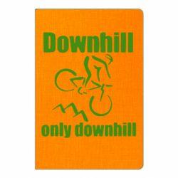 Блокнот А5 Downhill,only downhill