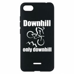 Чехол для Xiaomi Redmi 6A Downhill,only downhill - FatLine