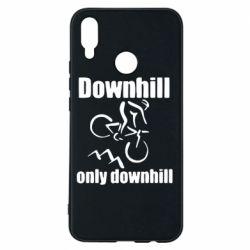 Чехол для Huawei P Smart Plus Downhill,only downhill - FatLine
