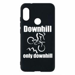 Чехол для Mi A2 Lite Downhill,only downhill - FatLine