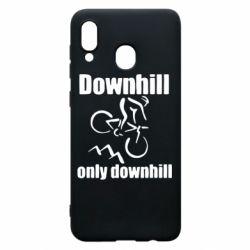 Чохол для Samsung A20 Downhill,only downhill