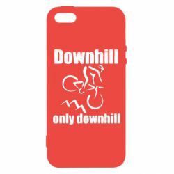 Чохол для iphone 5/5S/SE Downhill,only downhill