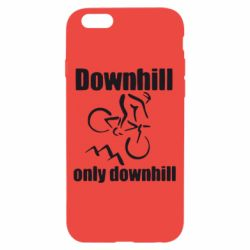 Чохол для iPhone 6/6S Downhill,only downhill