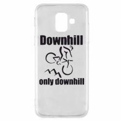Чохол для Samsung A6 2018 Downhill,only downhill