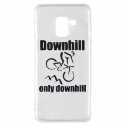 Чохол для Samsung A8 2018 Downhill,only downhill