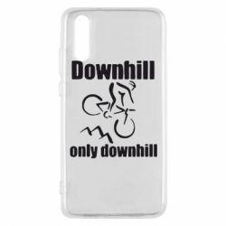 Чехол для Huawei P20 Downhill,only downhill - FatLine