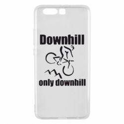Чехол для Huawei P10 Plus Downhill,only downhill - FatLine