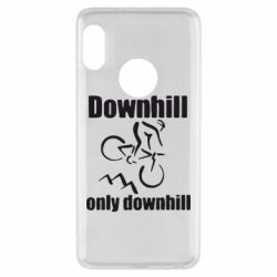 Чехол для Xiaomi Redmi Note 5 Downhill,only downhill - FatLine