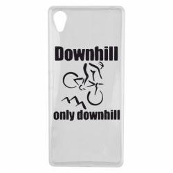 Чехол для Sony Xperia X Downhill,only downhill - FatLine