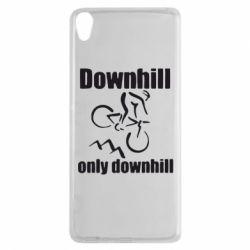Чехол для Sony Xperia XA Downhill,only downhill - FatLine