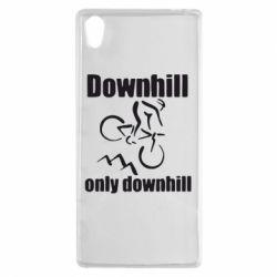 Чехол для Sony Xperia Z5 Downhill,only downhill - FatLine