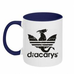 Кружка двоколірна 320ml Dracarys