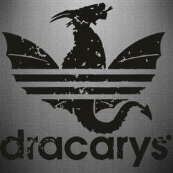 Наклейка Dracarys