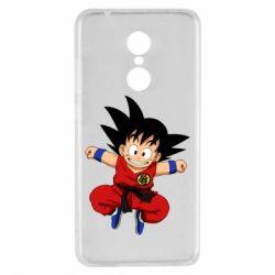 Чехол для Xiaomi Redmi 5 Dragon ball Son Goku - FatLine