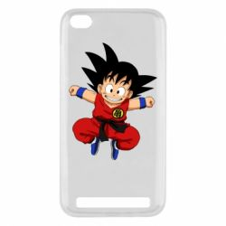 Чехол для Xiaomi Redmi 5a Dragon ball Son Goku - FatLine