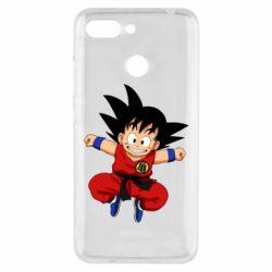 Чехол для Xiaomi Redmi 6 Dragon ball Son Goku - FatLine