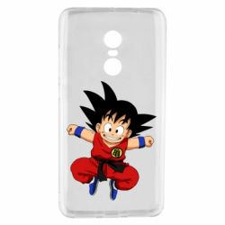Чехол для Xiaomi Redmi Note 4 Dragon ball Son Goku - FatLine