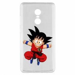 Чехол для Xiaomi Redmi Note 4x Dragon ball Son Goku - FatLine