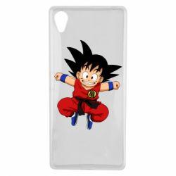 Чехол для Sony Xperia X Dragon ball Son Goku - FatLine