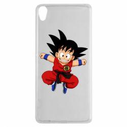 Чехол для Sony Xperia XA Dragon ball Son Goku - FatLine