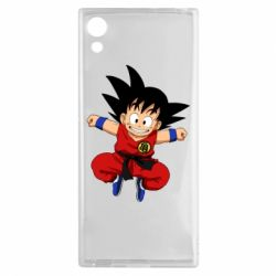 Чехол для Sony Xperia XA1 Dragon ball Son Goku - FatLine