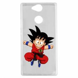 Чехол для Sony Xperia XA2 Dragon ball Son Goku - FatLine