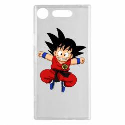 Чехол для Sony Xperia XZ1 Dragon ball Son Goku - FatLine
