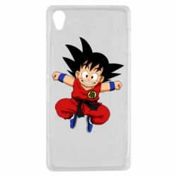 Чехол для Sony Xperia Z3 Dragon ball Son Goku - FatLine