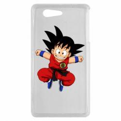 Чехол для Sony Xperia Z3 mini Dragon ball Son Goku - FatLine