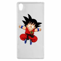 Чехол для Sony Xperia Z5 Dragon ball Son Goku - FatLine