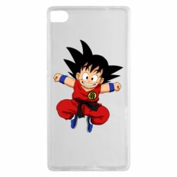 Чехол для Huawei P8 Dragon ball Son Goku - FatLine