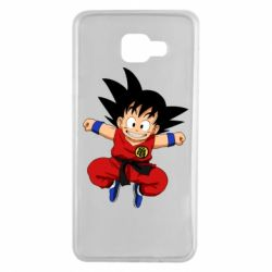 Чохол для Samsung A7 2016 Dragon ball Son Goku