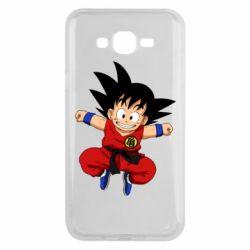 Чохол для Samsung J7 2015 Dragon ball Son Goku