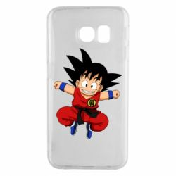 Чохол для Samsung S6 EDGE Dragon ball Son Goku