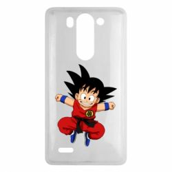 Чехол для LG G3 mini/G3s Dragon ball Son Goku - FatLine