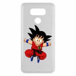 Чехол для LG G6 Dragon ball Son Goku - FatLine