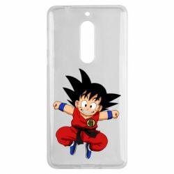 Чехол для Nokia 5 Dragon ball Son Goku - FatLine