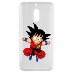 Чехол для Nokia 6 Dragon ball Son Goku - FatLine
