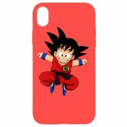 Чохол для iPhone XR Dragon ball Son Goku