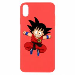 Чохол для iPhone Xs Max Dragon ball Son Goku
