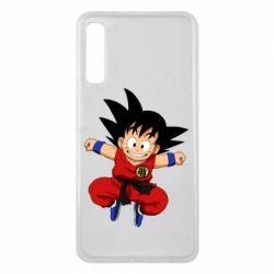 Чохол для Samsung A7 2018 Dragon ball Son Goku