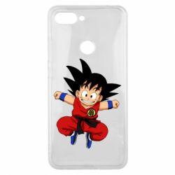 Чехол для Xiaomi Mi8 Lite Dragon ball Son Goku - FatLine
